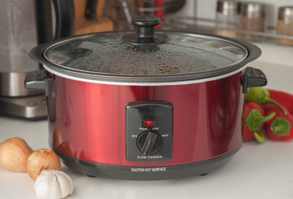 Stock Image of Slow Cooker