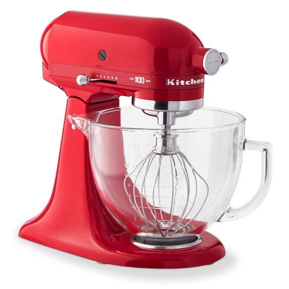 Glass Bowl Stand Mixer