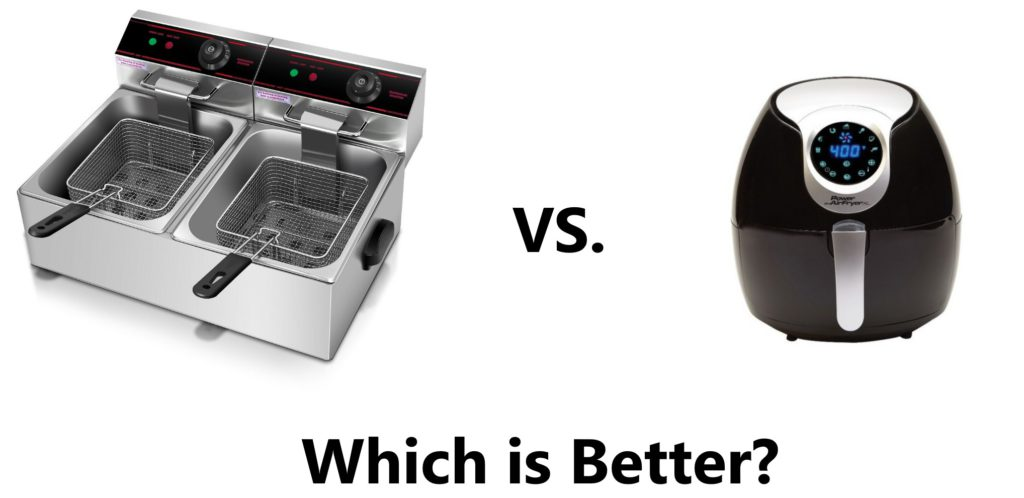 Deep Fryer vs. Air Fryer [Which is Better?]