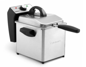 Deep Fryer Closed Lid
