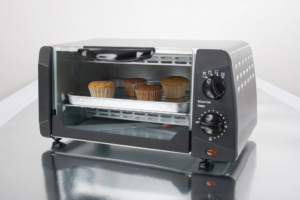 Toaster Oven Baking Muffins